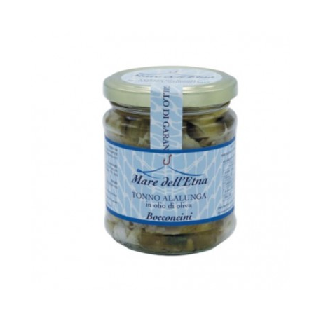 Bocconcini di tonno in olio di oliva 200 gr