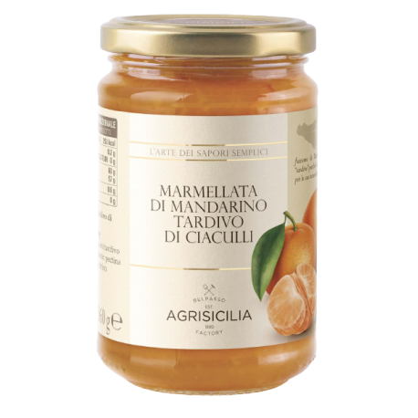 Marmellata di Mandarino Tardivo di Ciaculli