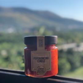 Composta di peperoncino e mele 250 gr