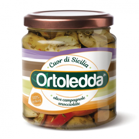 Olive campagnole snocciolate 280 gr